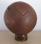 Genuine leather ball
